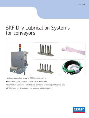 SKF Dry Lubrication Systems for conveyors