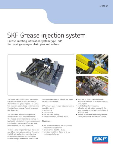 SKF Grease injection system