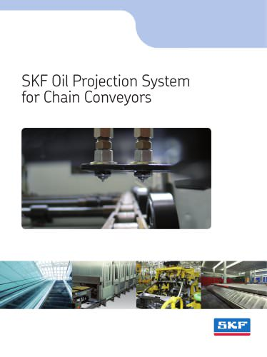 SKF Oil Projection System  for Chain Conveyors