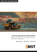 MST Mining Solutions Overview Brochure