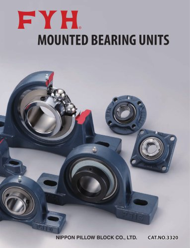 MOUNTED BEARING UNITS