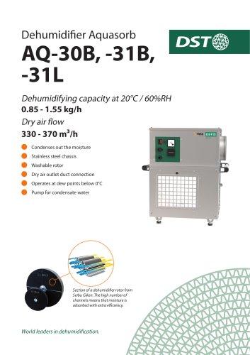 Dehumidifier Aquasorb AQ-30B, -31B, -31L