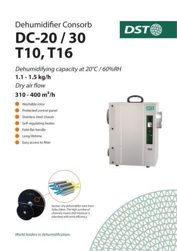 Dehumidifier Consorb DC-20 / 30 T10, T16