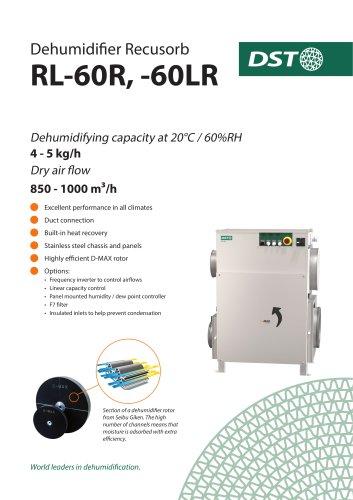 Dehumidifier Recusorb RL-60R, -60LR