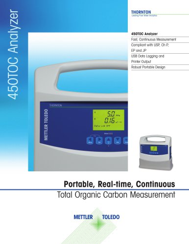 450TOC Total Organic Carbon Analyzer