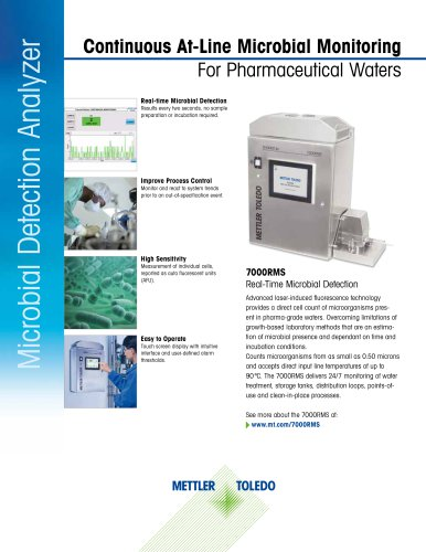 7000RMS Real-Time Microbial Detection