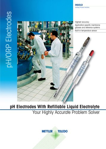 pH-Electrodes With Refillable Liquid Electrolyte