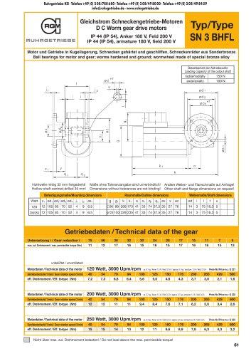 catalogue page SN3BHFL - DC