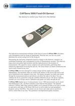 CAPSens 5000 product information - 3