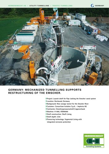 MECHANIZED TUNNELING SUPPORTS