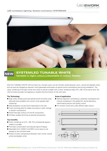 SYSTEMLED TUNABLE WHITE