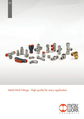 Metal Work Fittings - High quality for every application