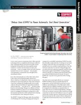 Belvac Uses ESPRIT to Power Automatic Tool Sheet Generation
