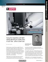 Facing Fierce Competition with Multi-tasking Machining