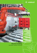 Machine building - Brochure
