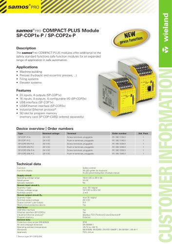 samos®pro COMPACT-PLUS Module