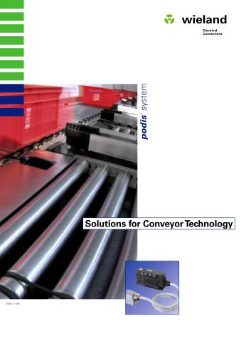 Solutions for Conveyor Technology podis® system