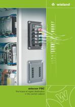 wiecon FSC - The future of signal distribution in the control cabinet