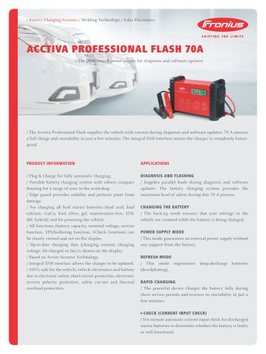 ACCTIVA Professional Flash