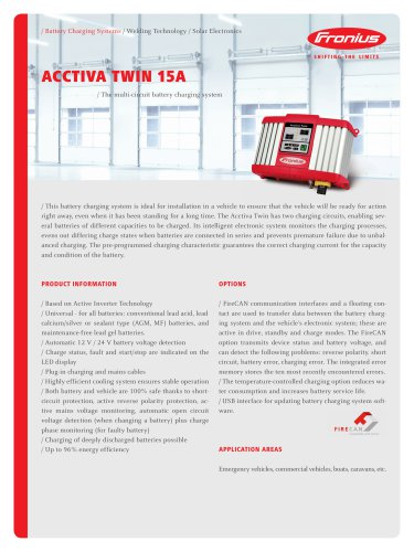 ACCTIVA Twin 15A