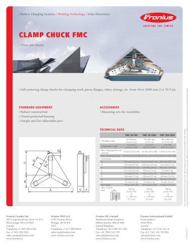 CLAMP CHUCK FMC