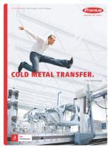 Cold metal transfer