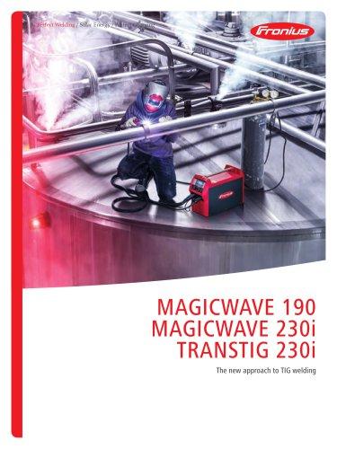 MagicWave 190 MagicWave 230i TransTig 230i
