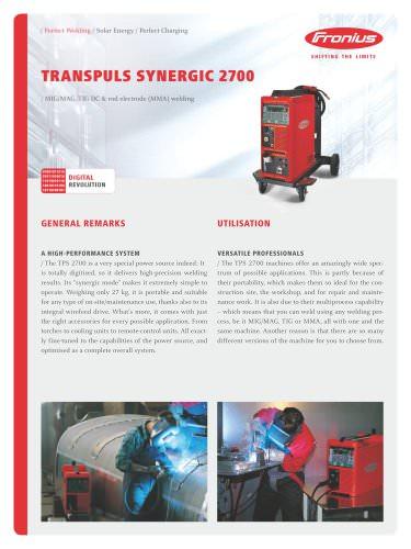 TransPuls Synergic 2700