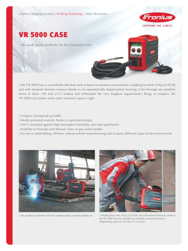 VR 5000 Case