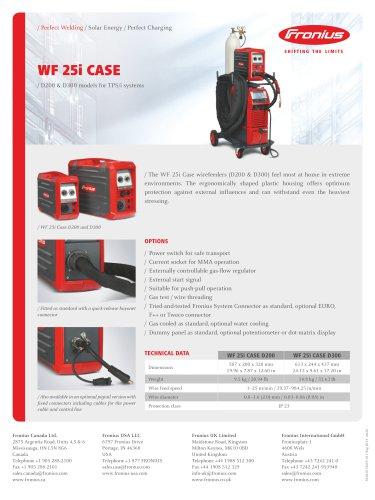WF 25i Case