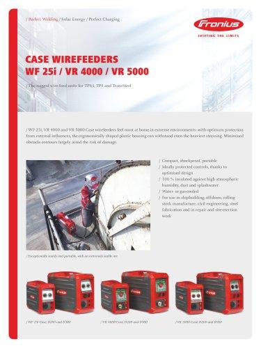 WF 25i / VR 4000 / VR 5000