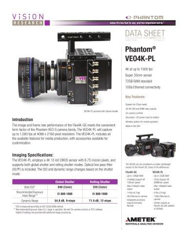 Phantom® VEO4K-PL