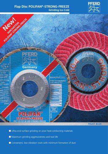 Flap Disc POLIFAN-STRONG-FREEZE