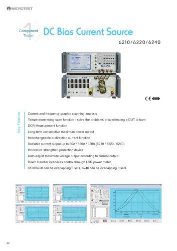 DC Bias Current Source 621 0/6220/6240