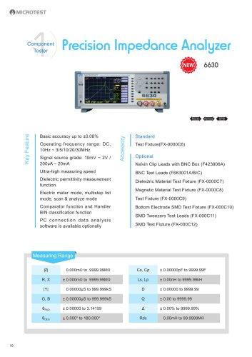 Impedance Analyzer_6630