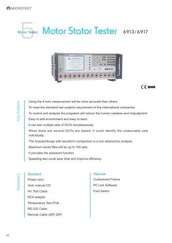 Motor Stator Tester_6913/6917