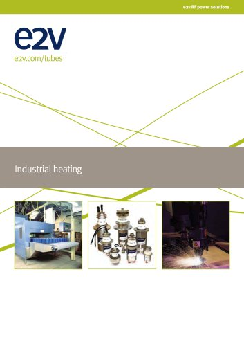 e2v Industrial heating brochure