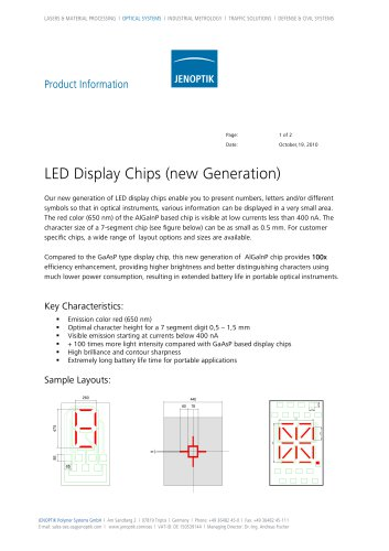 LED Display Chips (New Generation)