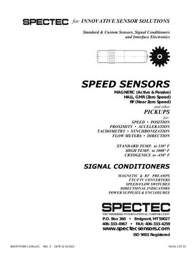 Spectec Catalog