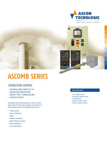Combustion control - ASCOMB series