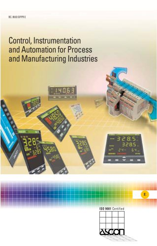 Control, Instumentation and Automation for Process and Manufacturing Industries