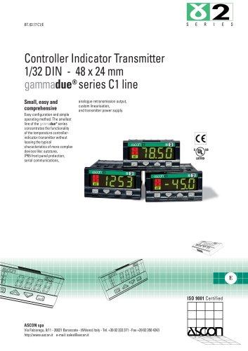 Controller Indicator Transmitter 1/32 DIN - 48 x 24 mm