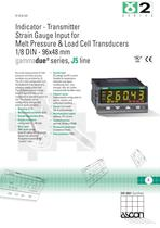 Indicator for Melt Pressure & Load Cell transducers
