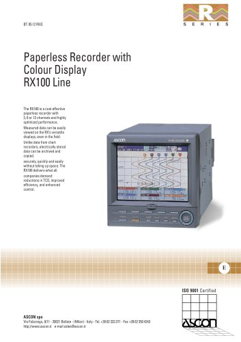Paperless recorder