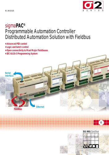 Programmable Automation Controllers - SigmaPAC Series