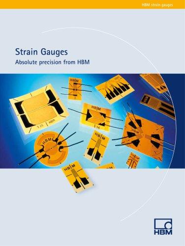 HBM eStrain Gauge Catalog