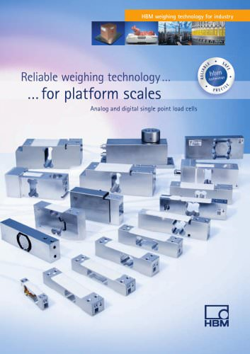 HBM weighing technology for industry