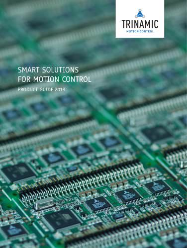 SMART SOLUTIONS FOR MOTION CONTROL PRODUCT GUIDE