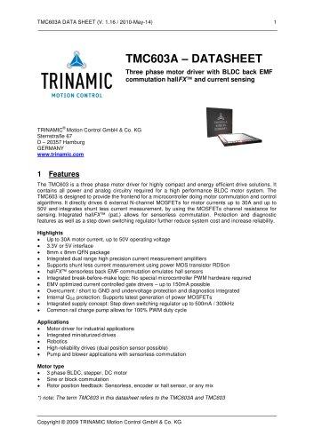 TMC603A
