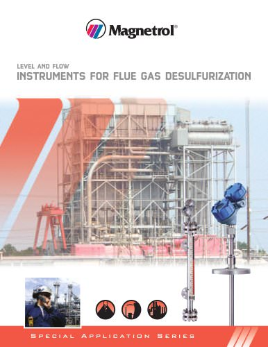 Level and Flow Instruments for Flue Gas Desulfurization